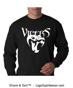Hanes Beefy Long Sleeve T-Shirt Design Zoom